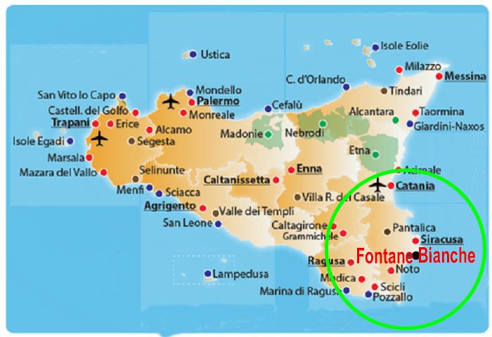 Cartina Spiagge Sicilia Orientale.Home Villa Melisa