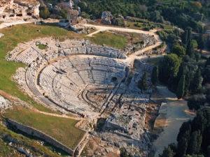 Greek theater of Syracuse