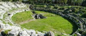 Roman amphitheater Syracuse