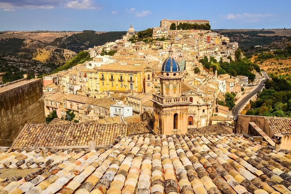 Vista panoramica Ragusa